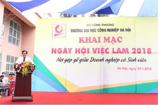 Ngày hội việc làm 2018 tại Trường Đại học Công nghiệp Hà Nội